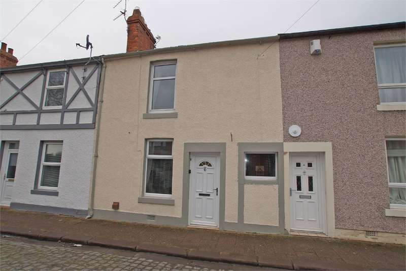 2 Bedrooms Terraced House for sale in CA2 7JG Bright Street, off Newtown Road, CARLISLE, Cumbria