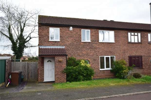 3 Bedrooms Semi Detached House for rent in Alvis Court, NORTHAMPTON