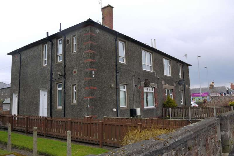 2 Bedrooms Ground Flat for sale in Marchfield Road, Ayr, KA8