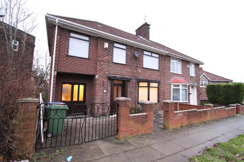 4 Bedrooms Semi Detached House for sale in Chilcott Road, Knotty Ash, Liverpool