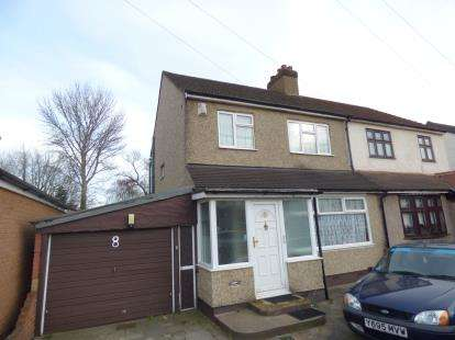 3 Bedrooms Semi Detached House for sale in Rainham, Essex, .