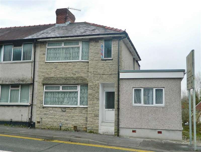 2 Bedrooms End Of Terrace House for sale in Carmarthen Road, Waun Wen