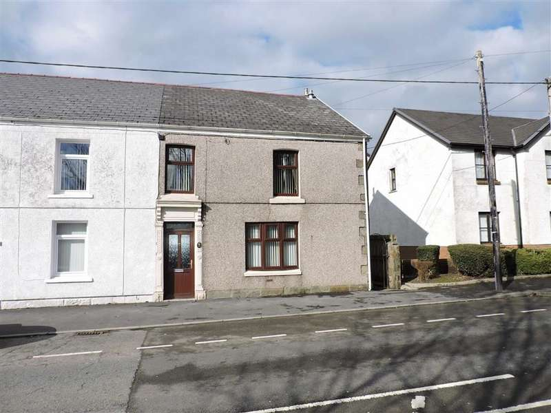 3 Bedrooms End Of Terrace House for sale in High Street, Ammanford