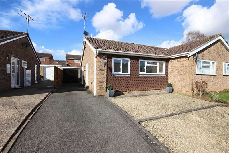 2 Bedrooms Semi Detached Bungalow for sale in Corbison Close, Woodloes Park, Warwick, CV34
