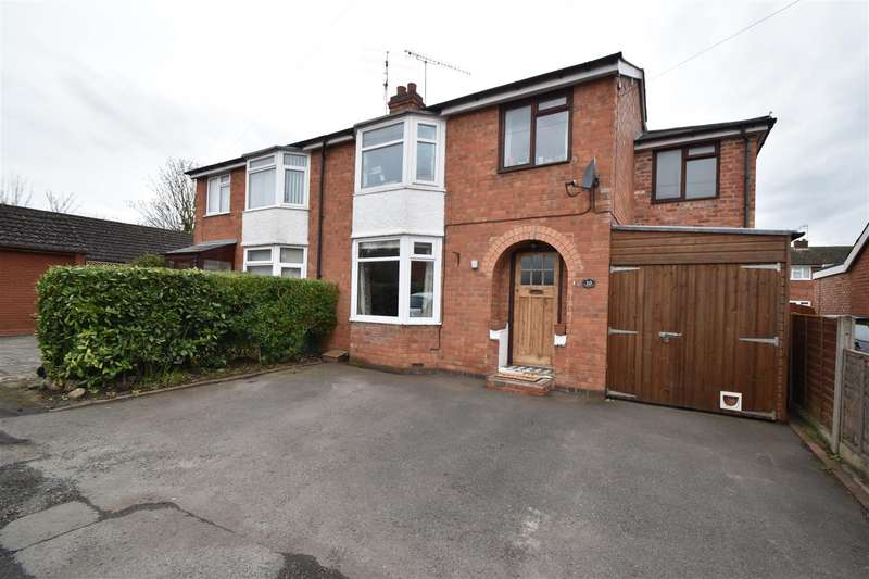 4 Bedrooms Semi Detached House for sale in Minett Avenue, Rushwick, Worcester