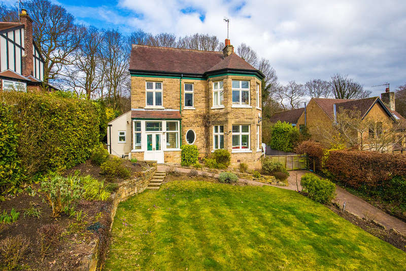 5 Bedrooms Detached House for sale in 76 Riverdale Road, Ranmoor, Sheffield, S10 3FD.