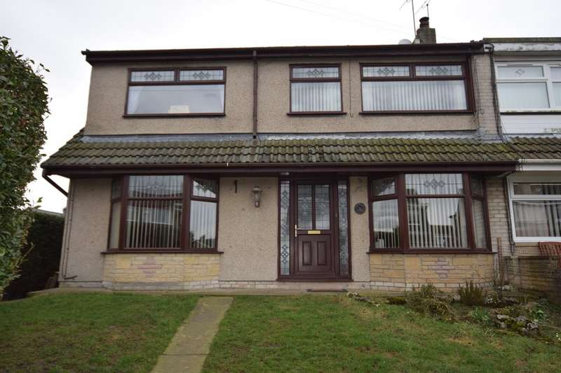 4 Bedrooms Semi Detached House for sale in Sands Road, Ulverston, Cumbria, LA12 9PW