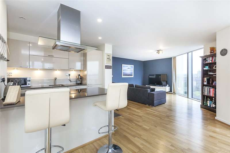 2 Bedrooms Flat for sale in Atrium Heights, 4 Little Thames Walk, London, SE8