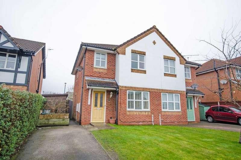 3 Bedrooms Semi Detached House for rent in 8 Cwrt Brenig, Buckley