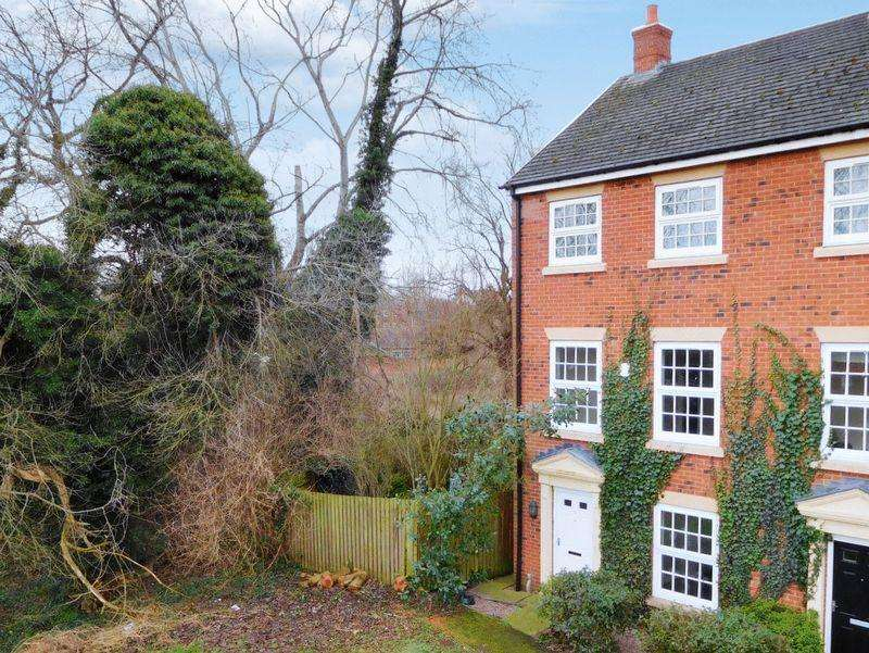3 Bedrooms End Of Terrace House for sale in Holland Walk, Nantwich