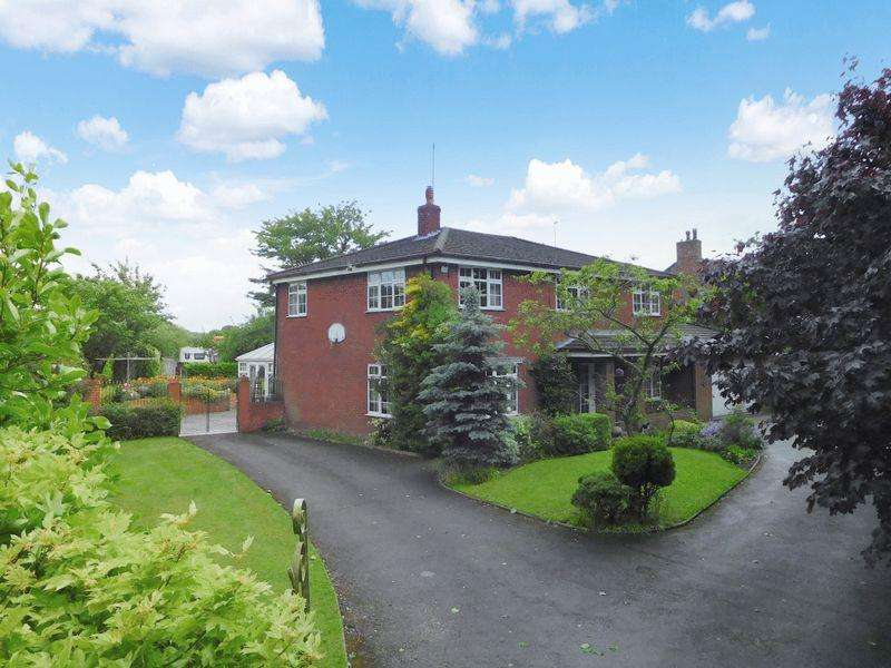 4 Bedrooms Detached House for sale in Bignall End Road, Bignall End