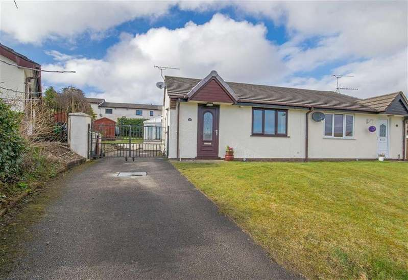 2 Bedrooms Semi Detached Bungalow for sale in Cae Masarn, Pentre Halkyn, Holywell
