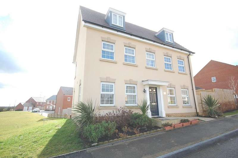 5 Bedrooms Detached House for rent in Cambrian Lane, Little stanion, Corby