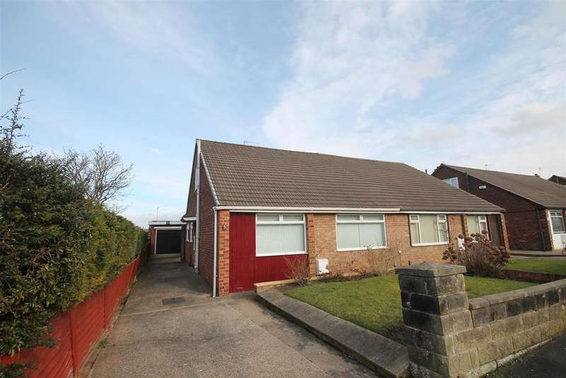 3 Bedrooms Semi Detached Bungalow for sale in Norfolk Crescent, Middlesbrough