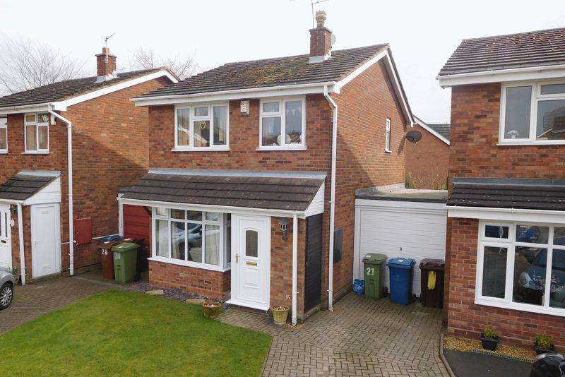 3 Bedrooms Link Detached House for sale in Elton Way, Gnosall, Stafford