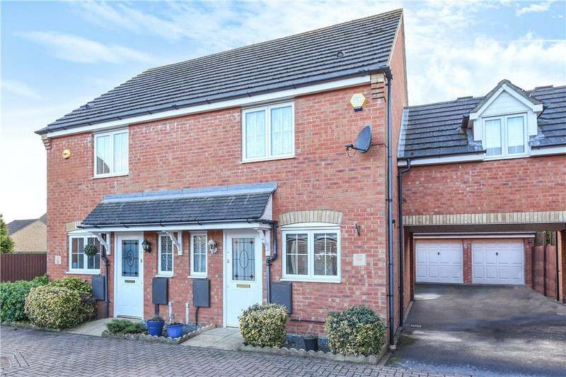 2 Bedrooms End Of Terrace House for sale in Fox Close, Clapham, Bedfordshire
