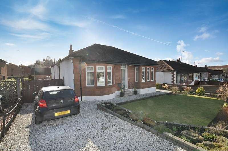 2 Bedrooms Detached Bungalow for sale in Norbreck Drive, Giffnock, Glasgow, G46