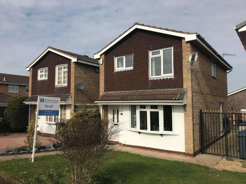 3 Bedrooms Detached House for rent in Rufford Grove, Bingham, Nottingham, NG13 8RH