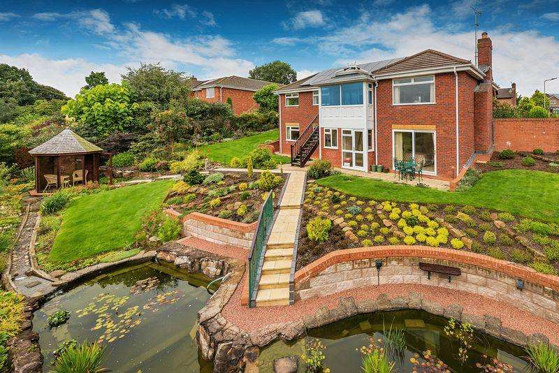 4 Bedrooms Detached House for sale in Tennyson Close, Market Drayton