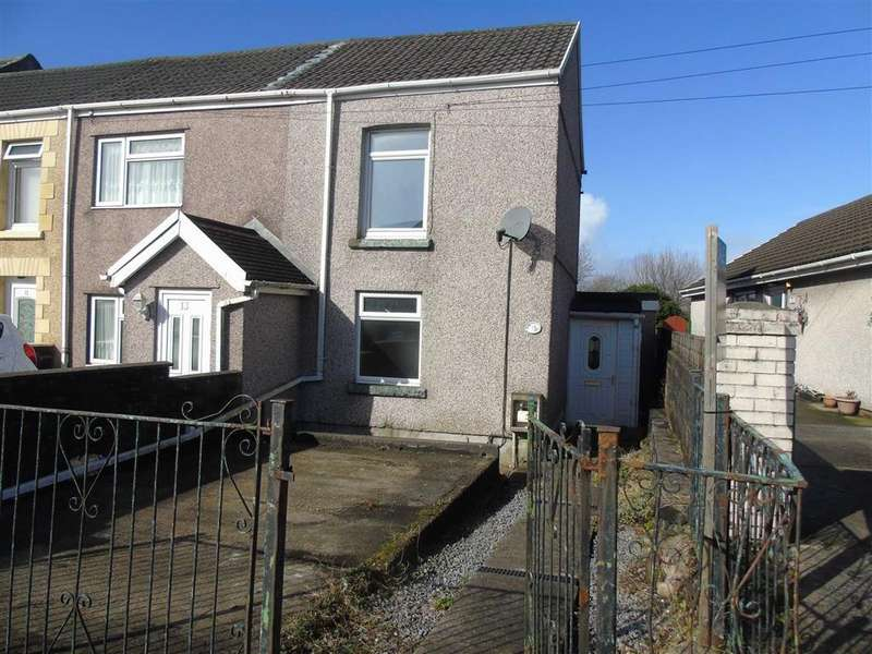 2 Bedrooms End Of Terrace House for sale in Mansel Road, Bonymaen, Swansea