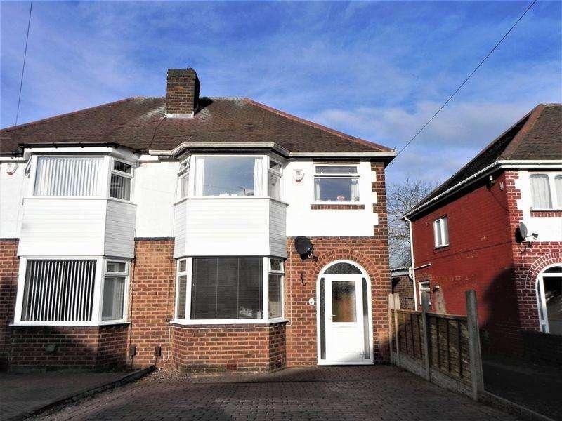 3 Bedrooms Semi Detached House for sale in Hansons Bridge Road, Birmingham