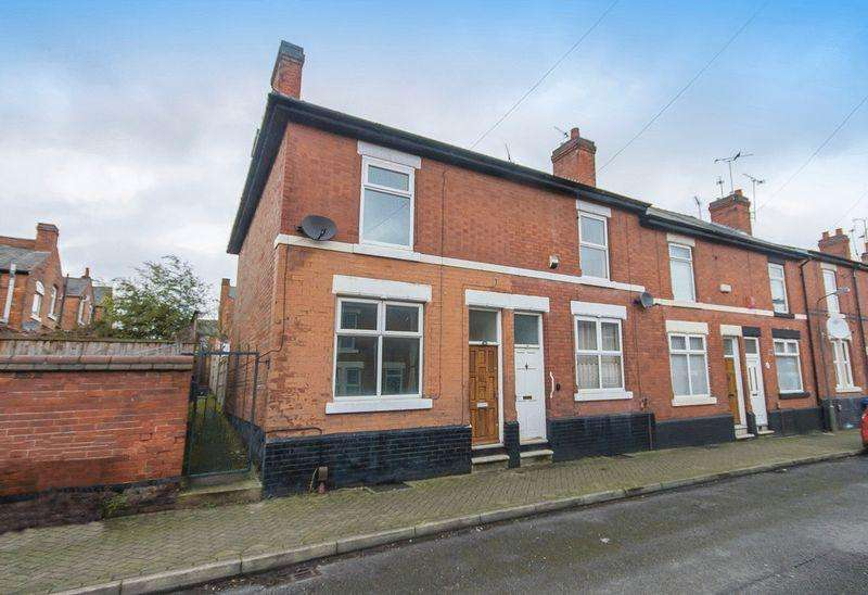 3 Bedrooms End Of Terrace House for sale in Woods Lane, Derby