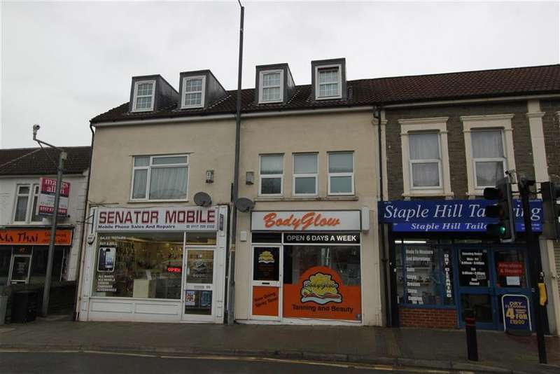 1 Bedroom Flat for sale in High Street, Staple Hill, Bristol