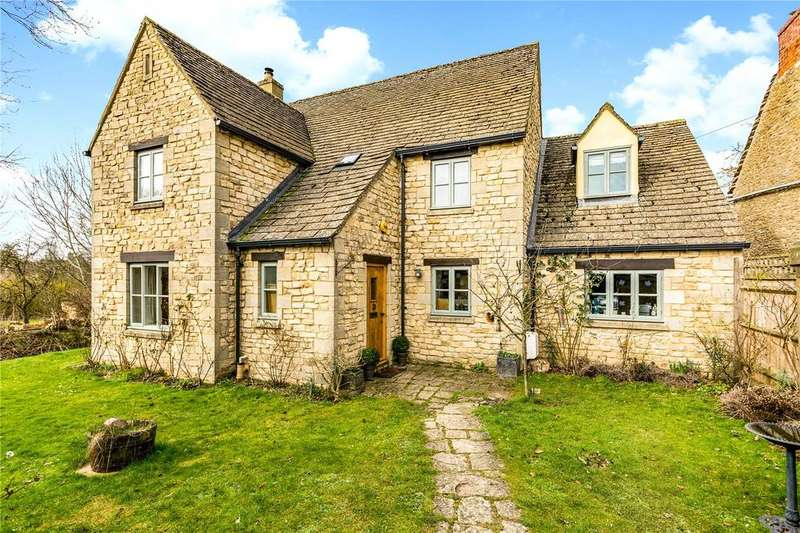 3 Bedrooms Detached House for sale in Filkins, Lechlade, Oxfordshire, GL7