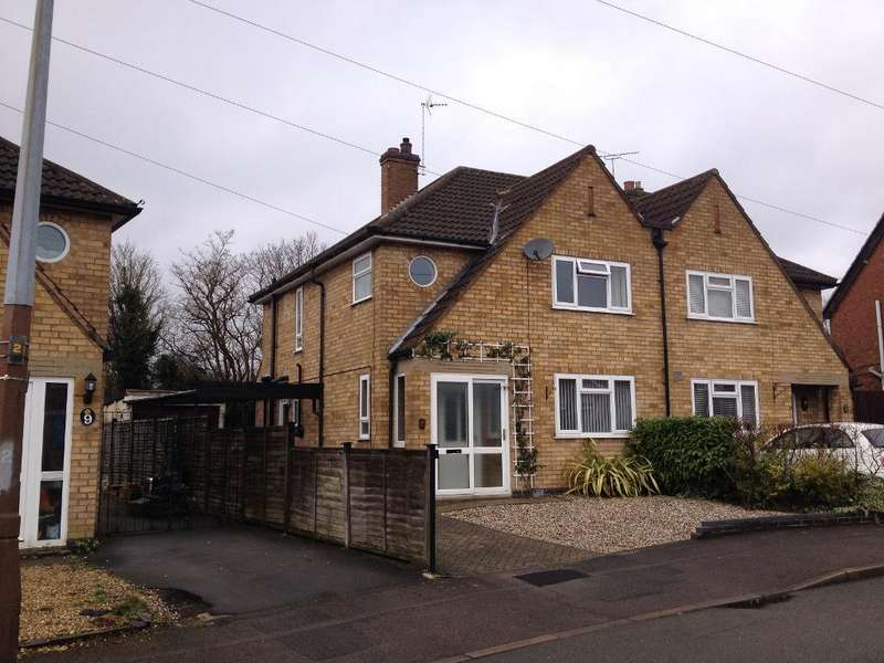 3 Bedrooms Semi Detached House for sale in Cumberwell Drive, Enderby, Leicester, Leicestershire, LE19 2LB