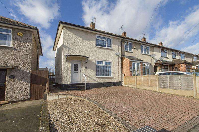 2 Bedrooms Terraced House for sale in COLLINGHAM GARDENS, MACKWORTH