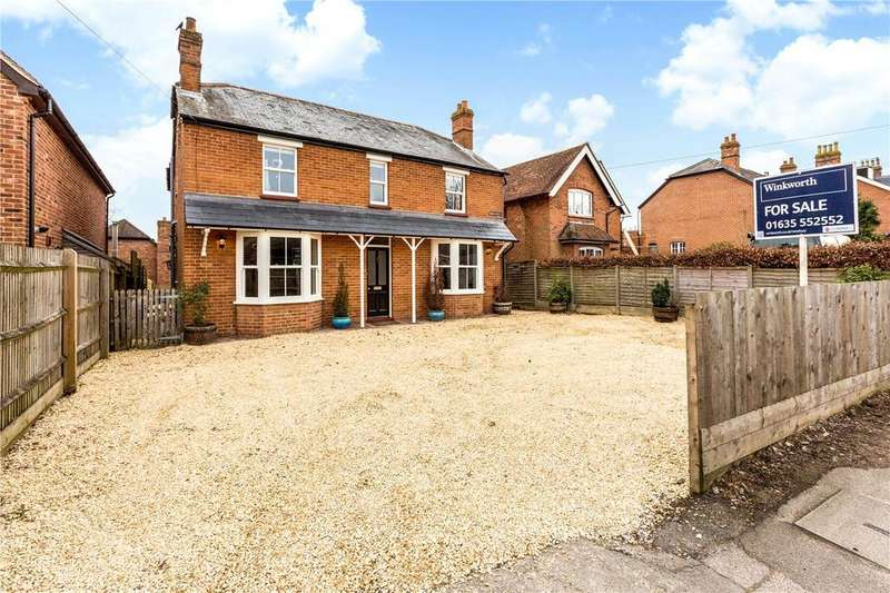 4 Bedrooms Detached House for sale in Shaw Hill, Newbury, Berkshire, RG14