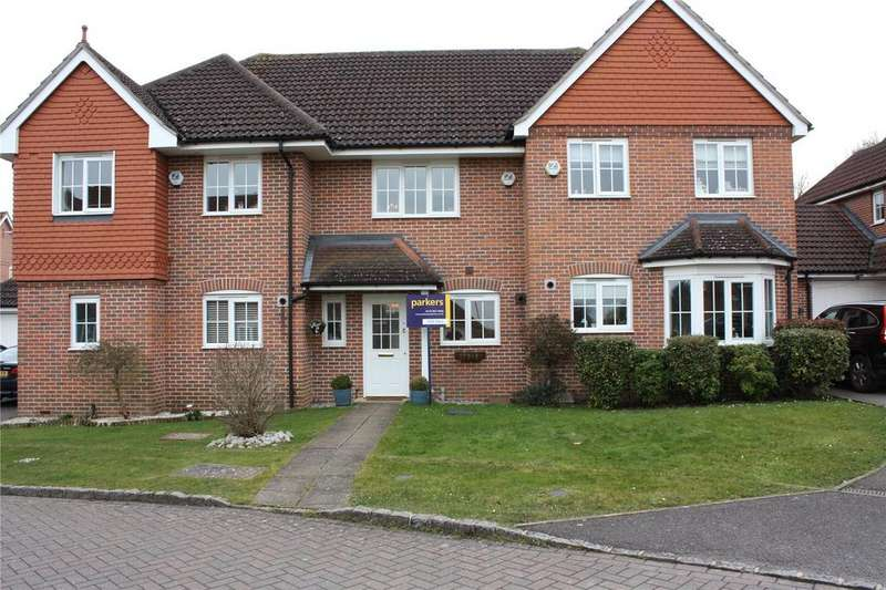 2 Bedrooms Terraced House for sale in Wallace Grove, Three Mile Cross, Reading, Berkshire, RG7