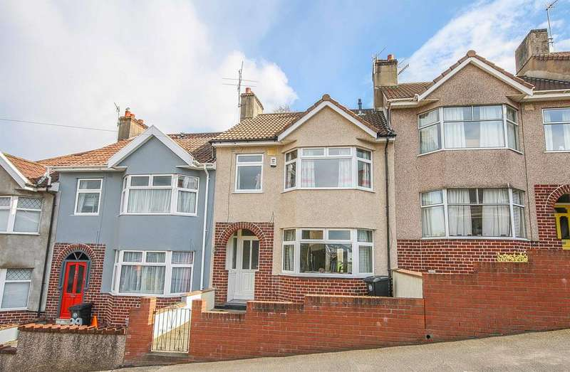 3 Bedrooms Terraced House for sale in Ravenhill Road, Lower Knowle, Bristol, BS3 5BS