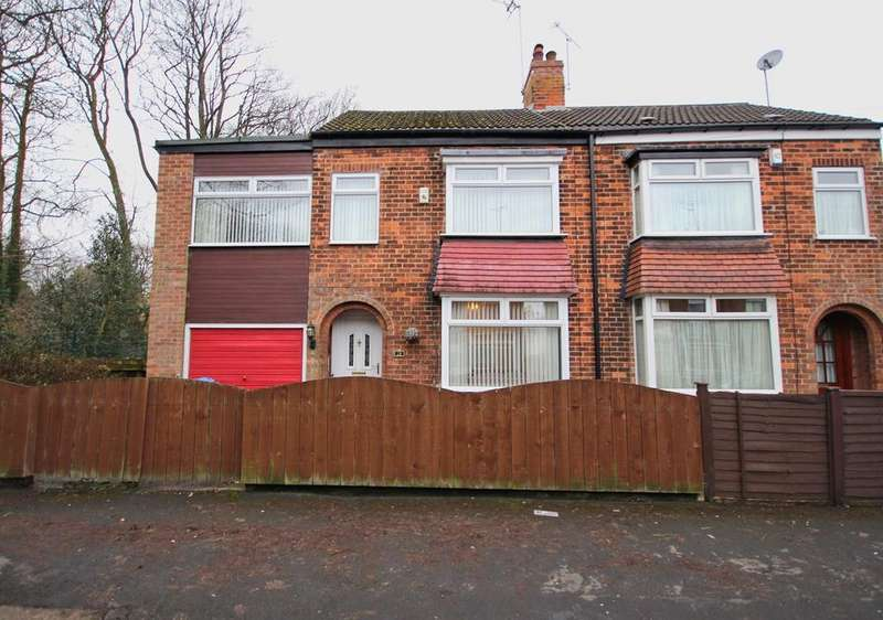 3 Bedrooms Semi Detached House for sale in Cornwall Street, Cottingham, HU16