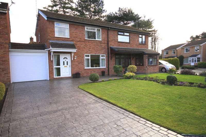 3 Bedrooms Semi Detached House for sale in Birchwood Drive, Nantwich, CW5