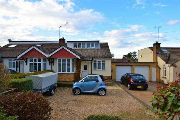 3 Bedrooms Semi Detached Bungalow for sale in Boughton Road, Moulton, NORTHAMPTON