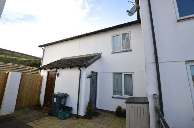 2 Bedrooms Terraced House for sale in Ashmill Court, Newton Abbot, Devon