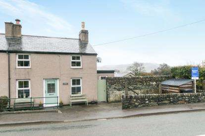 2 Bedrooms Semi Detached House for sale in Berth Conway Road, Tal Y Bont, Conwy, North Wales, LL32