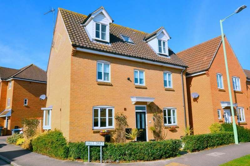 5 Bedrooms Detached House for sale in Wilkinson Drive, Kesgrave, IP5 2DS
