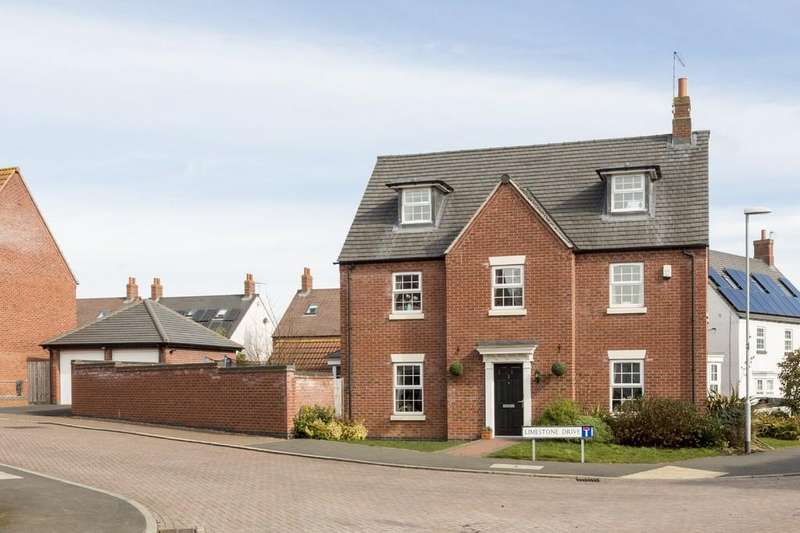 5 Bedrooms Detached House for sale in Limestone Drive, Barrow Upon Soar