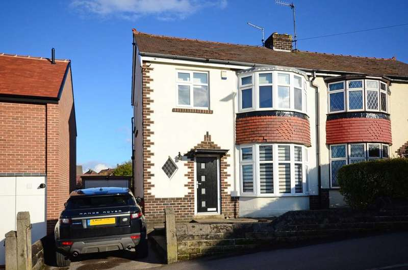 3 Bedrooms Semi Detached House for sale in Westwick Road, Greenhill