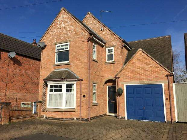 4 Bedrooms Detached House for sale in Woodland Avenue, Melton Mowbray, LE13