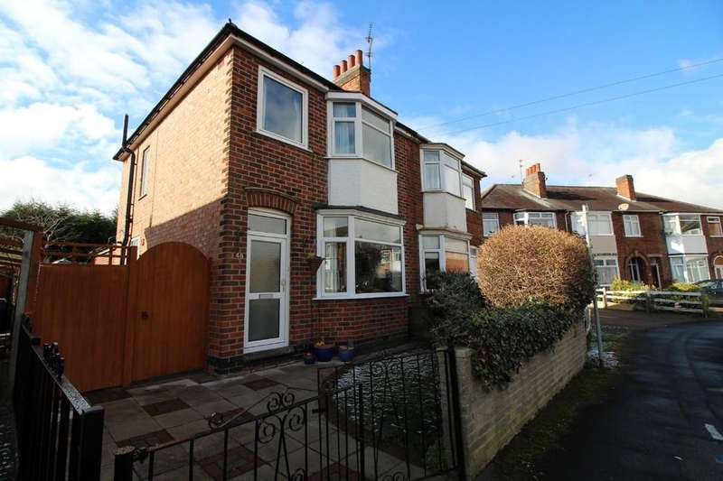 3 Bedrooms Semi Detached House for sale in Limehurst Avenue, Loughborough