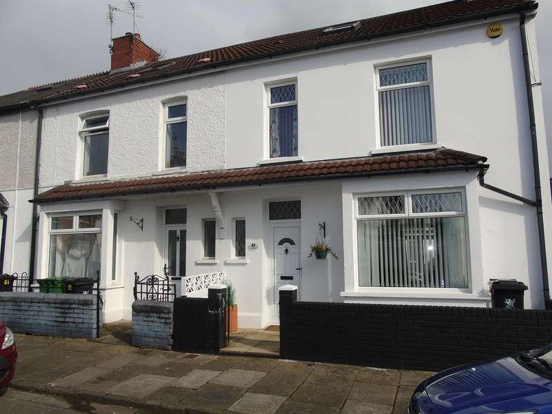 4 Bedrooms End Of Terrace House for sale in Lionel Road, Cardiff