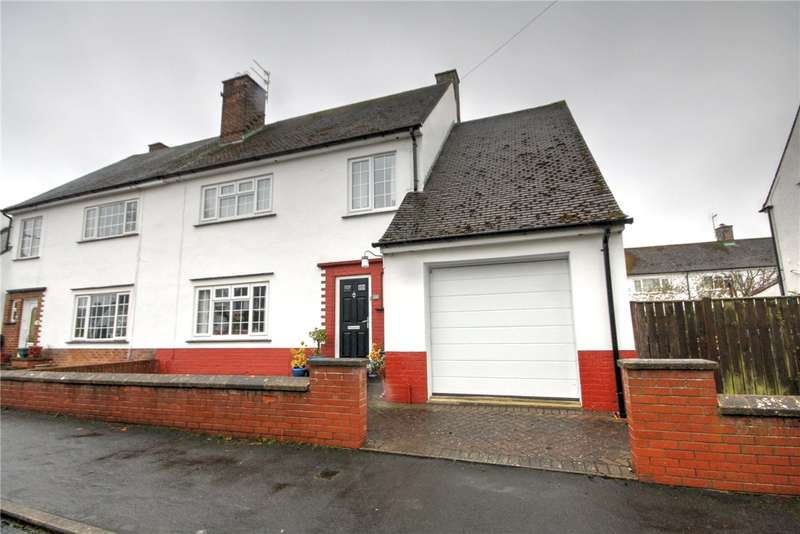 4 Bedrooms Semi Detached House for sale in Dene Hall Drive, Bishop Auckland, County Durham, DL14