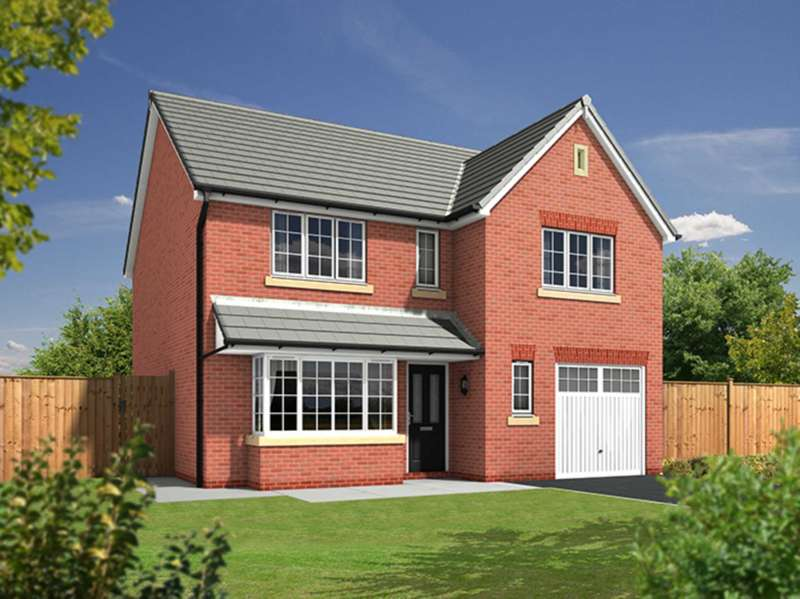 4 Bedrooms Detached House for sale in Plot 3, The Shakespeare, Lantern Fields, Clifton