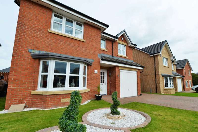 4 Bedrooms Detached House for sale in Grayling Road, Motherwell
