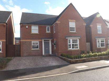 4 Bedrooms Detached House for sale in Columbus Place, Great Sankey, Warrington, Cheshire, WA5