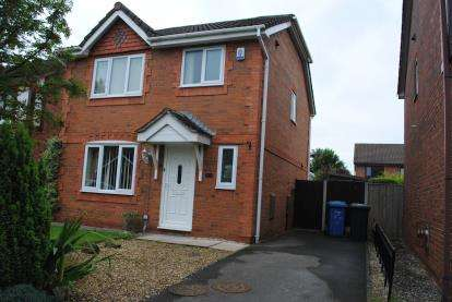 3 Bedrooms Detached House for sale in Harrogate Close, Great Sankey, Warrington, Cheshire, WA5