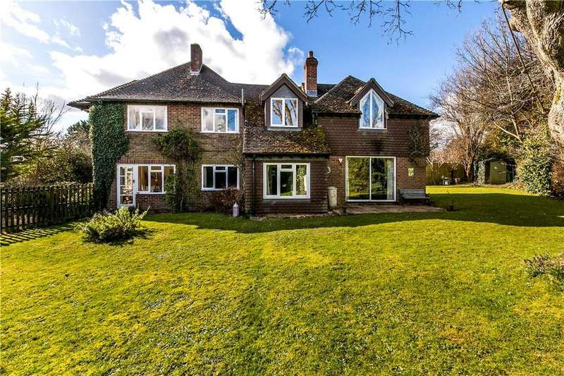 4 Bedrooms Detached House for sale in Woodfield Drive, Winchester, Hampshire, SO22